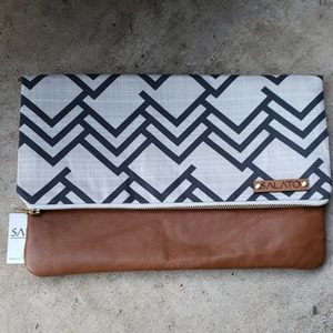 New Leather clutch/ handbag Best fashion gift